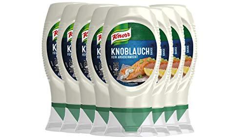 Knorr Grillsauce Knoblauch Soße 250 ml (8 x 260 g)