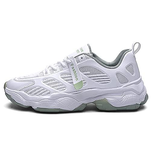 JUST ALONE Zapatillas de Running,Hombre Calzado Deportivo Ligero yTranspirable Asfalto Zapatos para Correr Antideslizante Sneakers (Color : Dark Gray, Size : EU 40)