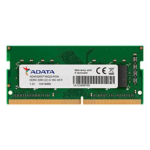 MEMORIA ADATA 8GB DDR4-2666MHZ 1.2V - NOTEBOOK - AD4S26668G19-SGN