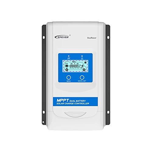 Régulateur solaire MPPT batterie Dual 30A 12v/24v DR 3210N idéal pour camping-car