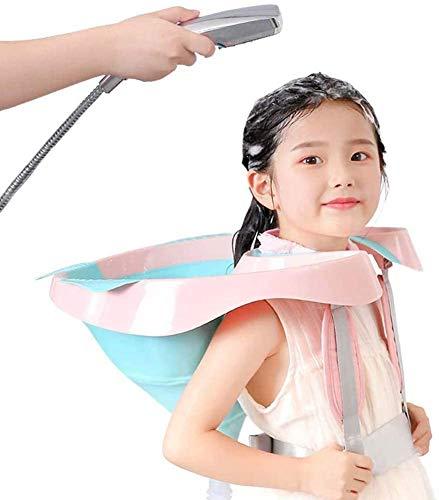 SHUAI Bassin De Lavage De Cheveux Pliable Portable Chaise De Shampooing pour Enfants, Lavabo De Chevet De Lavage De Cheveux pour Alité, Femme Enceinte, Handicapé, Personnes Âgées, Enfants