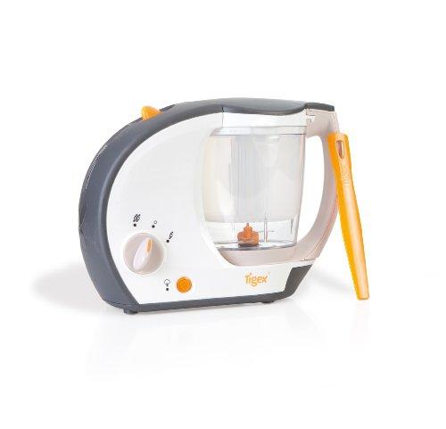 Tigex Collexion Cuiseur Vapeur Mixeur Chaudron + Rice Cooker Orange