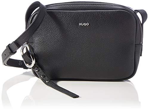 HUGO Damen Kim Crossbody-Bag, Black1, Normal