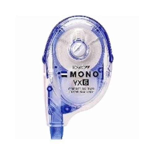 トンボ鉛筆 MONO YX 修正テープ 本体 幅6mm つめ替えタイプ CT-YX6 3個セット