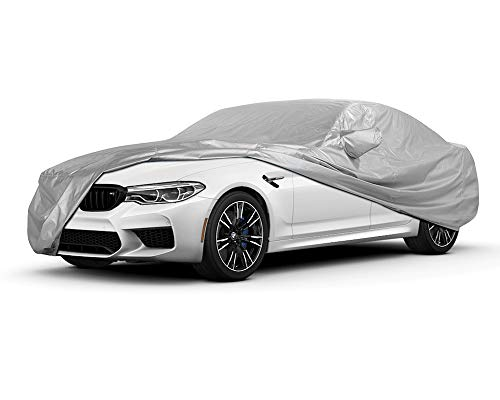 Crevelle Custom Fit 2004-2011 BMW 5 Series M5 525i 528i 530i 535i 545i 550i Car Cover Silver Metallic Covers 525 528 530 545 550