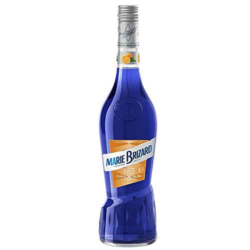 Licor Curaçao Azul Excellence Marie Brizard de 70 cl - Elaborado en Francia - Bardinet (Pack de 1 botella)