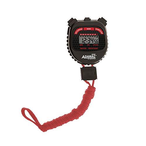 Marathon Adanac 3000 digitale stopwatch timer met extra groot scherm en knoppen, waterbestendig