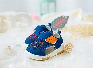 [マリア] キッズ スニーカー ベビーシューズ 1-3歳 男の子 女の子 練習靴 通気 キッズシューズ 出産祝い ベビー靴 子供 サンダル 子供靴 新