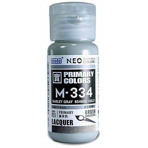 modo NEO U.S Air Force Camouflage Colors Lacquer Paint (30ml) M-334 Barley Gray BS4800/18B21 RAD D-4 etc
