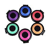 OSALAD 6 Unids/Set Temporal Tinte Dye Power Cake Color Color Crayons Styling Hair Chalk Juego De Salones No Toxic Tools Kit para Fiesta