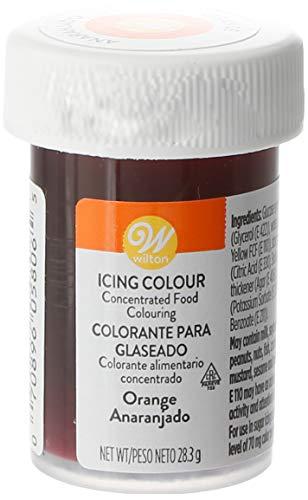Wilton Colorante Alimenticio para Glaseado en Pasta, 28.3g, Color Naranja, 04-0-0032