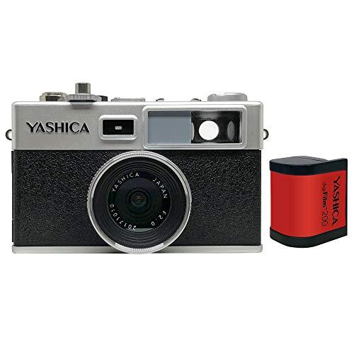 ヤシカデジフィルムカメラY35YASHICAdigiFilmCamerawithdigiFilm200digiFilm1本付YAS-DFCY35-P38