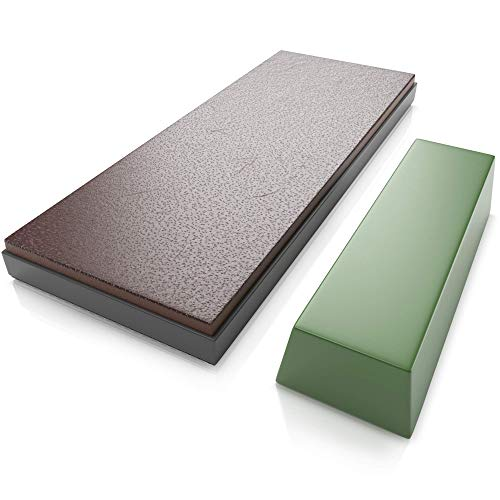 Sharp Pebble Premium Leather Strop with Polishing...