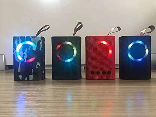Lumière LED LOGO Technologie d impression Bluetooth Speakeraudio haut-parleur avec service vocal, Stream Musique, intégré Intercom, Sync Jusqu à Président pour Home Audio, Haut-parleurs de contrôle av