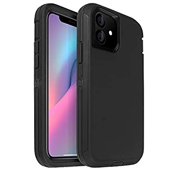 AICase for iPhone 11 Case  6.1   Drop Protection Full Body Rugged Heavy Duty Case Shockproof/Drop/Dust Proof 3-Layer Protective Durable Cover for Apple iPhone 11 6.1-inch