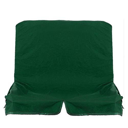 Zay Luay Startseite 2/3 Sitzer Ersatz Baldachin Swing Hängemattensitz Ersatz Sofa Chair Covers Gartenstuhlbank (Color : Green M)