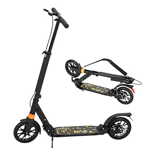 2 wheels scooters JOYMOR Foldable Kick Scooter for Teens, Adults 2 Wheel Scooter with 8