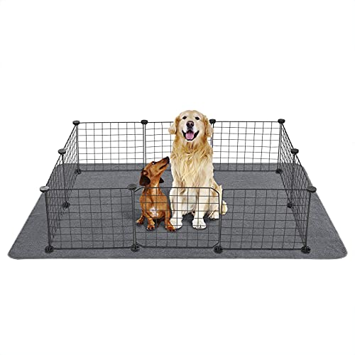 """Yangbaga Newest Extra Large Pee Pads for Dogs, 72.5""""44"""" Non Slip Dog Pee Pads for Large Dogs and..."""