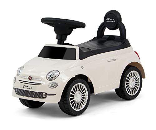 Jeździk pchacz pojazd Fiat 500 Milly Mally white