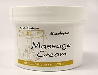 Real Bodywork Santa Barbara Massage Cream - Eucalyptus 32 Ounce Jar