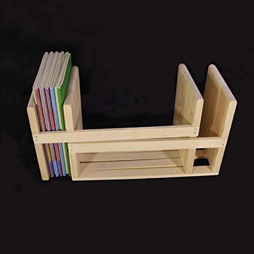Estante para discos de vinilo LP de madera, cafetería, barra de ocio, caja de almacenamiento de DVD, estante de libros ajustable de gran capacidad ( Color : Wood , Size : Maximum extension 55cm )