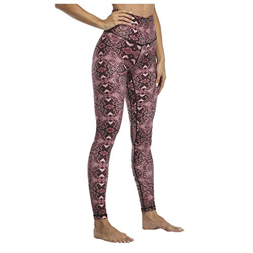 Women's High Waist Yoga Pants Tummy Control Slimming Leggings Workout Running Full-Length Leggings Seamless Textured Booty Tights