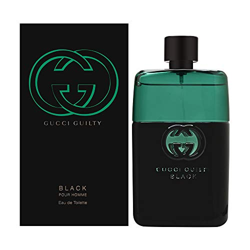 Gucci Guilty Pour Homme Black EDT 90 ml, per stuk verpakt (1 x 90 ml)
