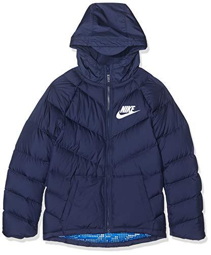 Nike Kinder B NSW Parka DOWN OW Sport Jacket, Midnight Navy, XS
