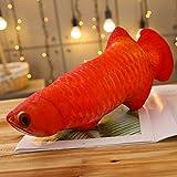 FFDGHB Fisch Kissen Puppe Spielzeug Tintenfisch Tintenfisch Gesalzener Fisch PlüSchtier FüLlstoff Puppe Spielzeug Geburtstagsgeschenk 60Cm