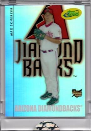 2008 eTopps (Topps) Baseball #23 Max Scherzer Rookie Card - Only 999 made! - In hand!