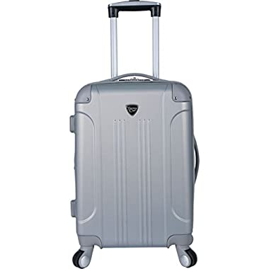 Travelers Club Luggage Modern 20  Hardside Expandable Carry-On Spinner