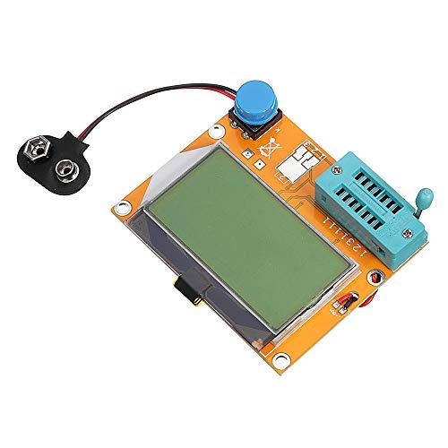 ScottDecor electrónica 12864 LCD transistor gráfico probador resistencia capacitancia ESR SCR medidor LCR-T4 electrónica kit