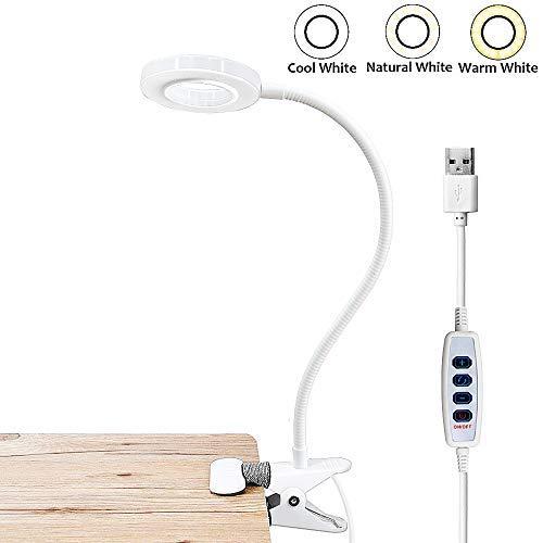 Bonlux 5W USB Portátil Lámpara LED con pinza