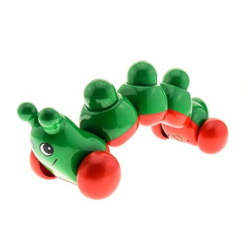 1 x Lego Duplo Primo Tier Raupe rot grün Rassel Baby für Set Raupe und Freunde 2097 caterpillarc01