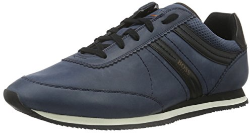 BOSS Herren Adrenal_Runn_pp 10193514 01 Sneakers, Blau (Dark Blue 401), 39 EU