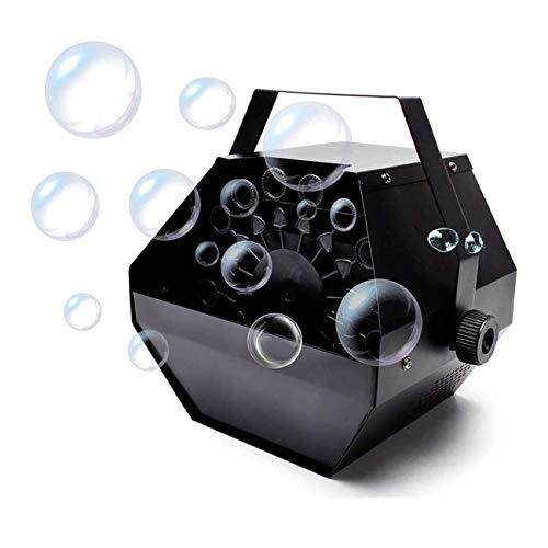 ZSM Bubble Machine, Portable Bubble Machine Automatic bubble machine for Kids Party Wedding Stage Lighting YMIK