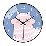 rrff Relojes De Pared Reloj De Pared De Dibujos Animados Reloj Pingüino Lindo Reloj Colgante Sala De Estar Dormitorio Silencioso Reloj De Cocina Herramientas De Regalo para Observar El Tiempo