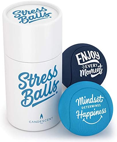 Candescent Stress Balls Hand Therapy Relief for Anxiety Fidget Tension Exercise Strengthener product image