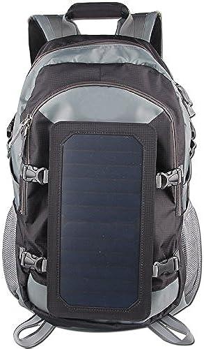 SAYES SOLAR Sayes Solaire Portable Rechargeable extérieur Voyage Randonnée Sac Solaire avec Panneau Solaire Chargeur