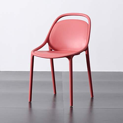XW rugleuning eetkamerstoel smeedijzeren stoel eenvoudige bureaustoel, moderne designer kantoor casual restaurant