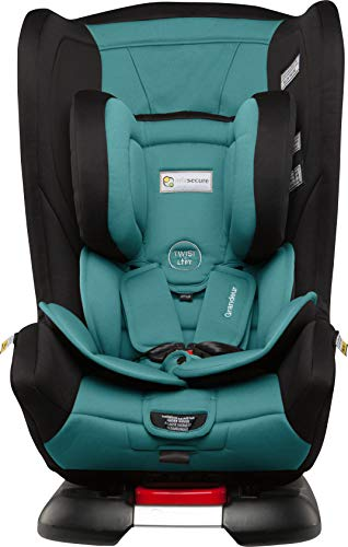 InfaSecure Grandeur Astra 2013 Convertible Car Seat for 0 to 8 Years, Aqua