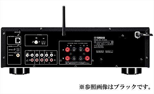 ヤマハネットワークレシーバーワイドFM/AMチューナー/Wi-Fi/Bluetooth/ハイレゾ音源対応ブラックR-N303(B)