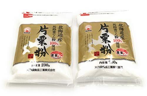 火乃国 北海道産 片栗粉 230g チャック付 ×2袋