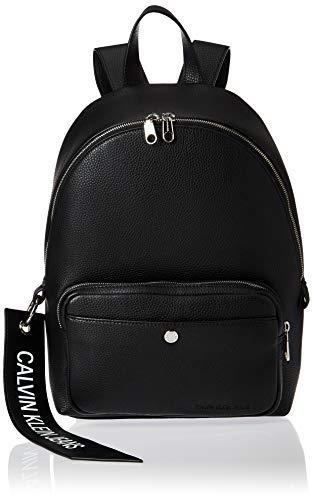 Calvin Klein Damen Ckj Banner Cp Backpack 35 Rucksack, Schwarz (Black), 0.1x0.1x0.1 Centimeters