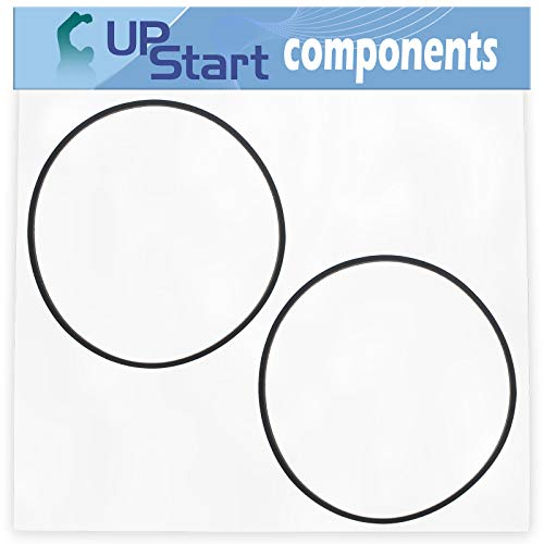 UpStart Components 2-Pack 954-04260 Wheel Drive Belt Replacement for Yard Machines 31AS63EE700 (2014) Two Stage Snow Thrower - Compatible with 754-04260 V-Belt