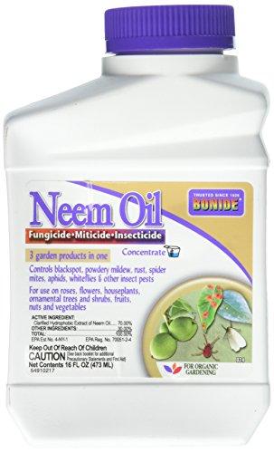 Neem Oil Fungicide Miticide Insecticide Concentrate 16 fl. oz.
