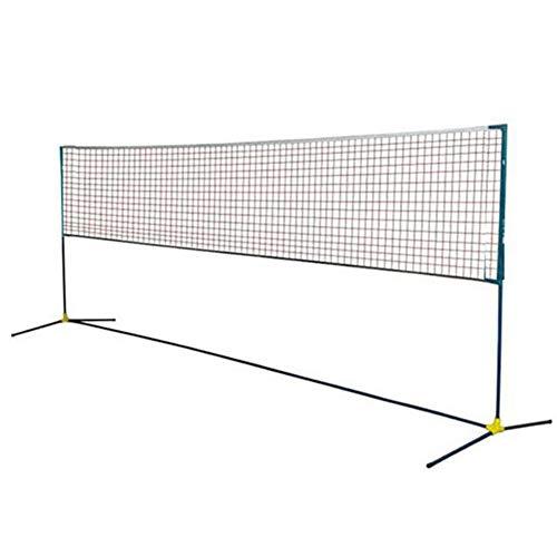 Oceanindw Conjunto Deportivo Portátil para Bádminton, Voleibol de Red Combinado de Deportes Múltiples para Cancha Cubierta o Al Aire Libre, Playa Red de Tenis De Entrada
