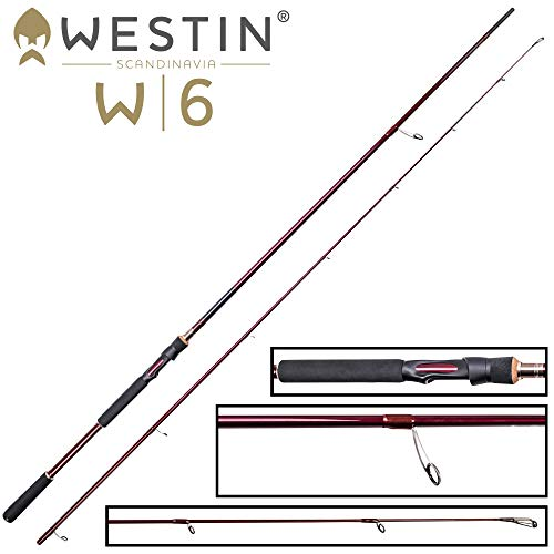 Westin W6 Powerteez M 2,70m 14-49g - Spinnrute zum Spinnangeln, Angelrute zum Jiggen & Faulenzen, Zanderrute, Raubfischrute