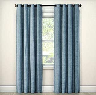 Eclipse Rowland Room Darkening Blackout Window Curtain Panel, 52