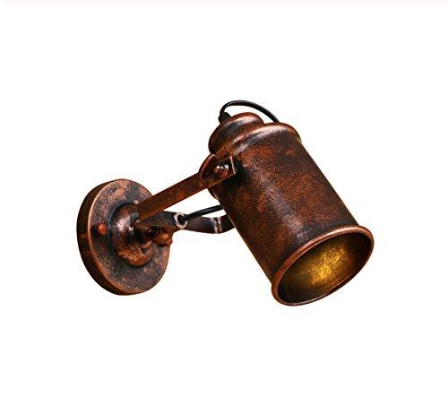 Retro wandlamp vintage wandlamp industriële wandlamp retro wandlamp industriële wandlamp roestlamp verstelbaar retro kast aantrekkelijk bar meubel